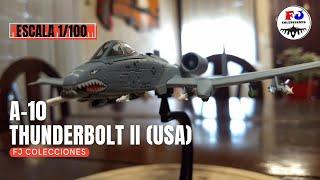Aviones de Combate | A-10 Thunderbolt II (USA) - Salvat