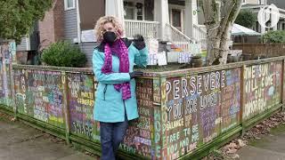 Hope Fence becomes community journal, meeting place for Portland neighborhood