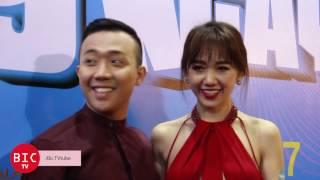 [Bic TV] Trấn Thành dính như sam, liên tục hôn Hari Won