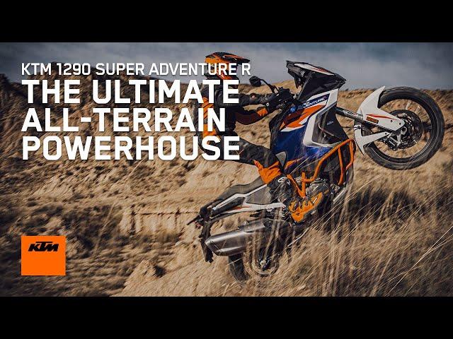 KTM 1290 Super Advenure R mise à l'épreuve du tout-terrain