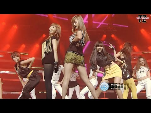 4MINUTE(포미닛) - MUZIK 뮤직 Stage Mix~~!!