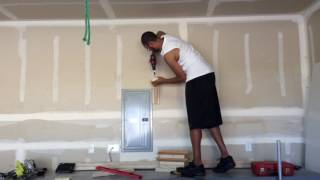 DIY Garage Shelf, Pegboard, and Tool Organization On A Budget