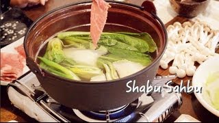 Shabu Shabu with 2 Sauces