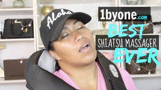 1byone Shiatsu Massager | Amazon Review