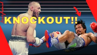 Conor McGregor. vs. Manny Pacquiao. FULL FIGHT HIGHLIGHTS 2020 2021 Why Conor beats Manny? KNOCKOUT!