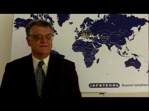 Mihajlo Ceraj Ceric - Invitation to the INFOTEHNA Pharmaceutical Conference 2012, Milan