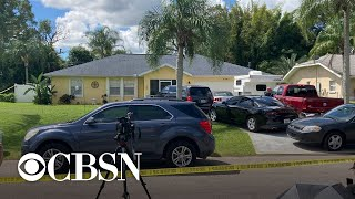 FBI searches home of Gabby Petito's fiancé, Brian Laundrie