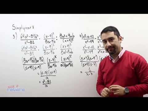 Fracciones algebraicas 17