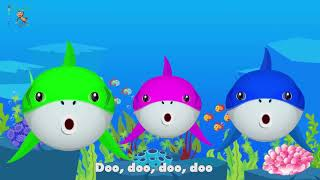Baby Shark Dance - Sing and Dance! Animal Songs for Children Hai Fisch Tanz