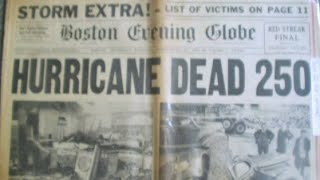 Violent Earth: New England's Killer Hurricane of 1938 - History Channel documentary