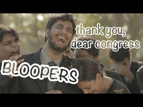 Bloopers - Thank You, Dear Congress - Smashpipe Comedy