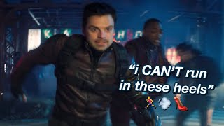 bucky and sam being iconic