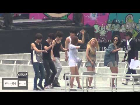 Dance Battle Rehearsal  SMTOWN SG