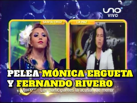 Mónica Ergueta dijo ser maestra de Fernando Rivero. Ocurrió en Bailando por un Sueño Bolivia