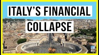 Italy's Financial Collapse Sparks Fear In Europe! Massive DEBT CONTAGION Could Crash System!