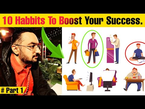 Habits Of Successful Rich People In Hindi | Top 10 Habits Of Highly Successful People 2021 Part 1
