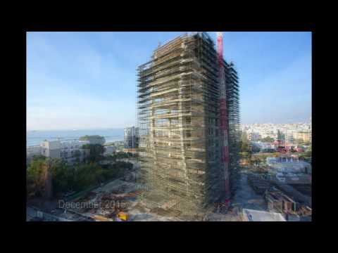 The Oval - Construction Progress January 2016 (13th floor completed)