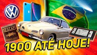 A EVOLUÇÃO DO BRASIL DE 1900 ATÉ HOJE!