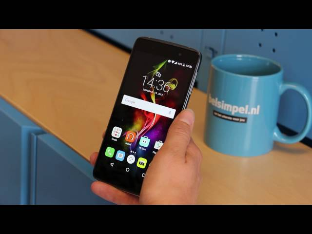 Belsimpel.nl-productvideo voor de Alcatel IDOL 4 Plus 6055K Black