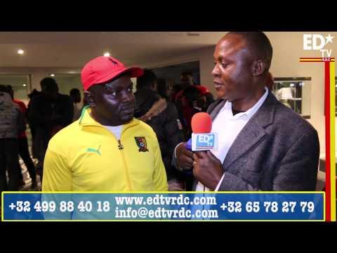 CONGOFOOT: RDC - CAMEROUN AMBIANCE A L'HOTEL APRES LE MATCH