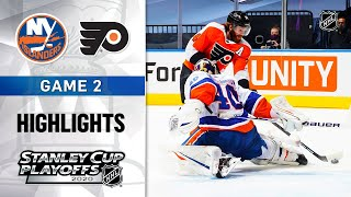 NHL Highlights | Second Round, Gm2: Islanders @ Flyers - Aug. 26, 2020