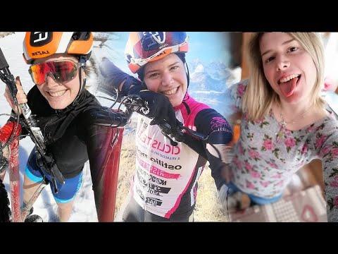 "Francesca Cauz a... ""Cicliste in streaming"""