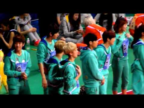 130128 아이돌 스타 육상&양궁 선수권 대회 EXO