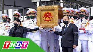 Lễ an táng nguyên Tổng bí thư Lê Khả Phiêu | THDT