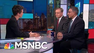 FBI Director Christopher Wray Not Particularly Attentive To Mueller Findings   Rachel Maddow   MSNBC