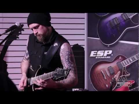 Andy James at ESP Guitars - NAMM 2013: Live Performance - TMNtv