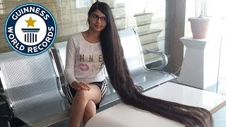 Nilanshi Patel: India's Rapunzel - Meet The Record Breakers