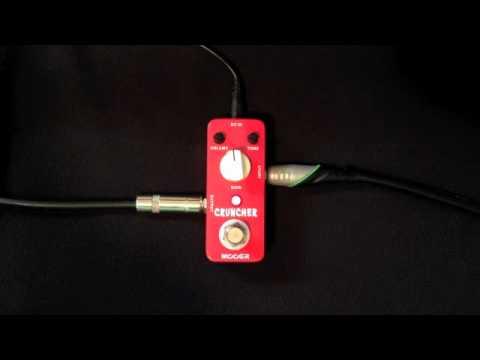 Mooer Audio Cruncher Distortion Pedal