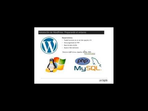 Webinar - Cómo poner en marcha una web con WordPress