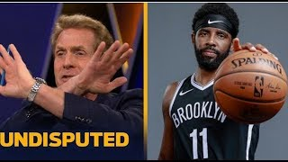 Skip Bayless SHOCKED Kyrie in Nets Debut: 50 Pts, misses GW shot in OT loss to T'Wolves 127-126
