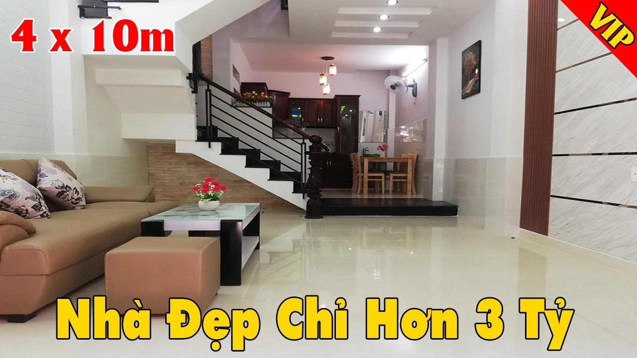 Chính chủ bán nhà phố đẹp lung linh đường Huỳnh Văn Nghệ, phường 12, Gò Vấp giá chỉ 3,95 tỷ video