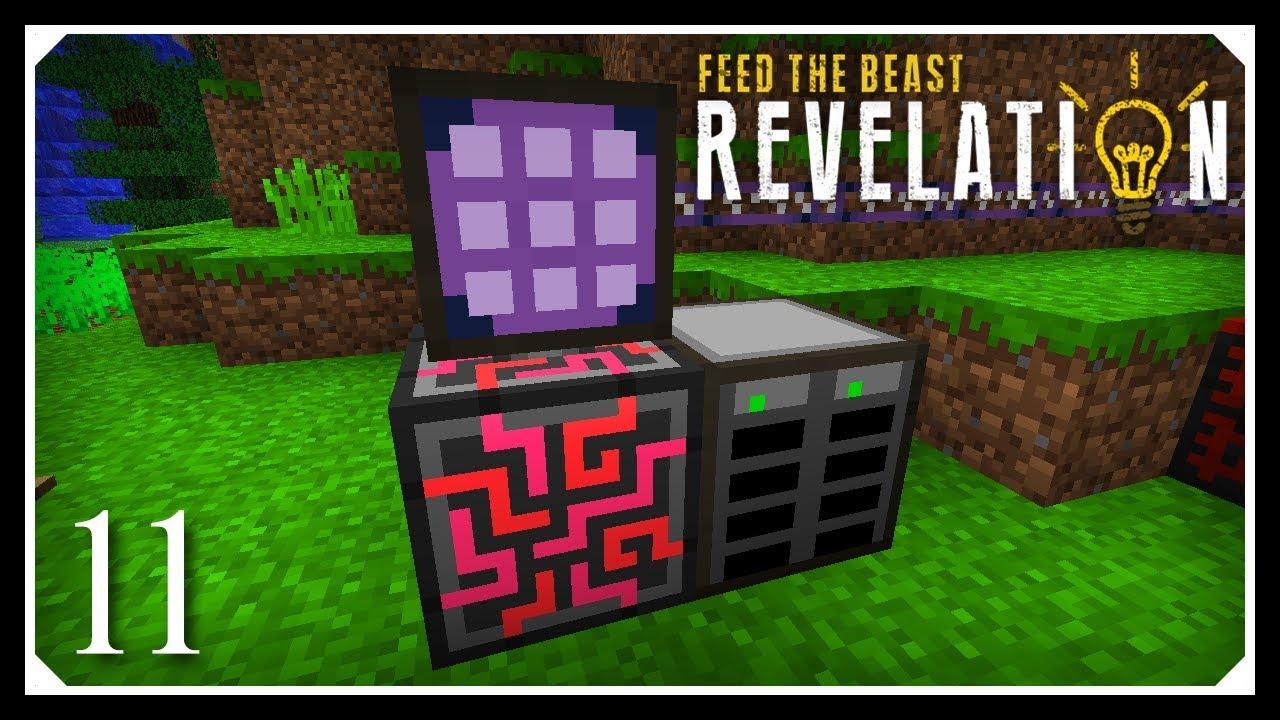 How To Play FTB Revelation | Starting AE2 - Basic ME System! | E11 Modded  Minecraft For Beginners