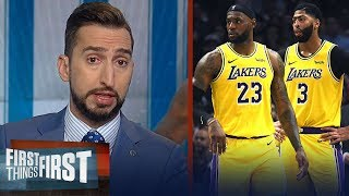 LeBron, Lakers had a poor showing in loss to Clippers - Nick Wright   NBA   FIRST THINGS FIRST