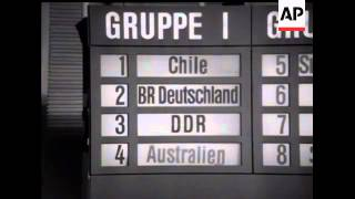 FIFA WORLD CUP DRAW 1974 - MUTE