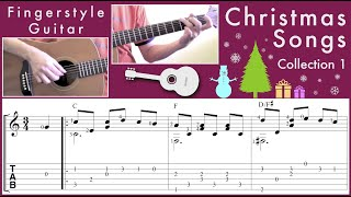 Fingerstyle Guitar Christmas Songs Collection