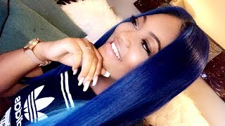 Watch Me Slay This Wig from Start To Finish + Coloring Her BlueBerry | Supernova Hair