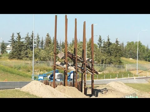 Outrage over public art display in Calgary