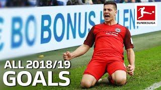 Luka Jovic - All Goals 2018/19