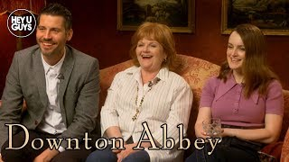 Robert James-Collier, Sophie McShera, & Lesley Nicol on Downton Abbey Movie