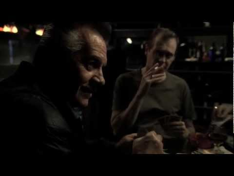 The Sopranos - Tony Blundetto saves Christophers life