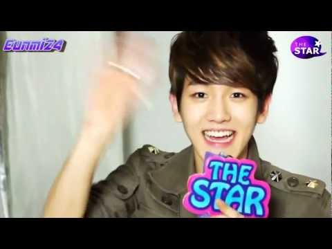 [ENG SUB] The Star EXO-K Baekhyun 120510