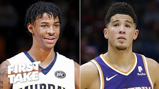 The Suns desperately need Ja Morant to pair with Devin Booker - Stephen A. | First Take
