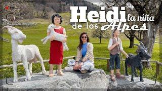 VISITANDO la AUTÉNTICA CASA de HEIDI en los ALPES SUIZOS | angelianak