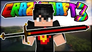 Oops Club Minecraft Crazy Craft 3.0 - Tập 18: ZEROS HOÀN THÀNH KIẾM BIG BERTHA