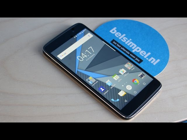 Belsimpel-productvideo voor de BlackBerry DTEK50