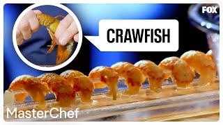 Gordon Ramsay Demonstrates How To Prepare Crawfish | Season 8 Ep. 12 | MASTERCHEF